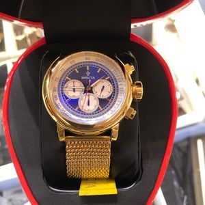 Invicta limited edition helmet cast watch